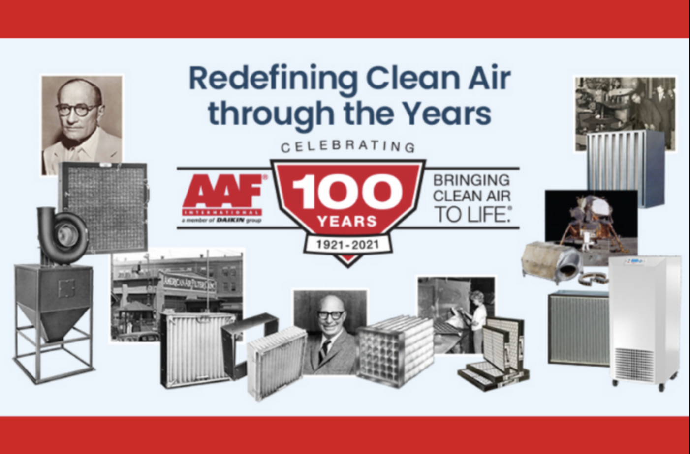 AAF: Redefining Clean Air through the Years